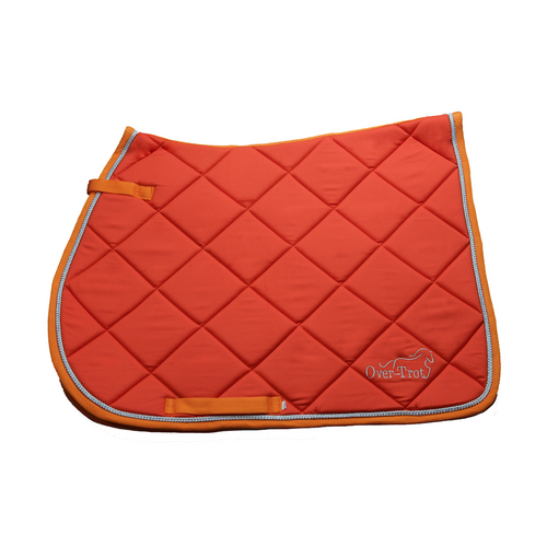 Orange Performance Saddle Pad - All Purpose-Over-Trot-Tacklet