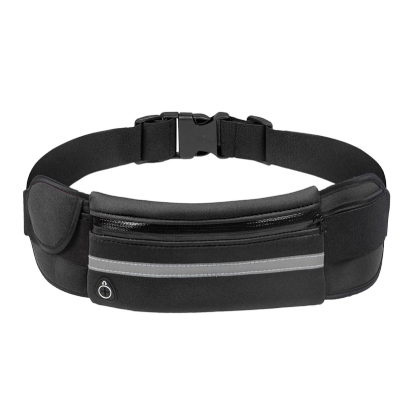 Black Sports Belt Bag (Stock on order)