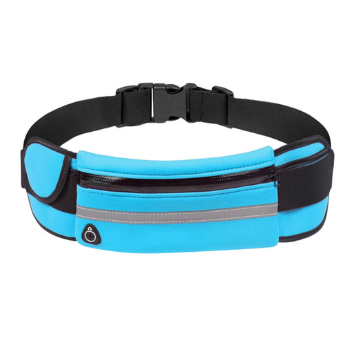 Blue Sports Belt Bag