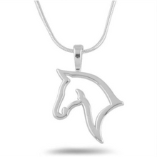 Load image into Gallery viewer, Horse Head Necklace