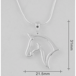 Horse Head Necklace
