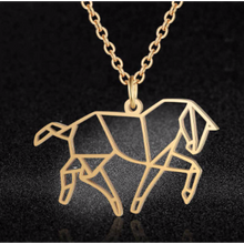 Load image into Gallery viewer, Trotting Horse Necklace