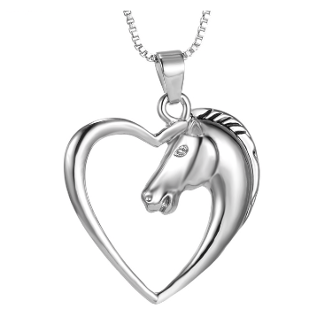 Heart Horse Necklace (Pre-Order)