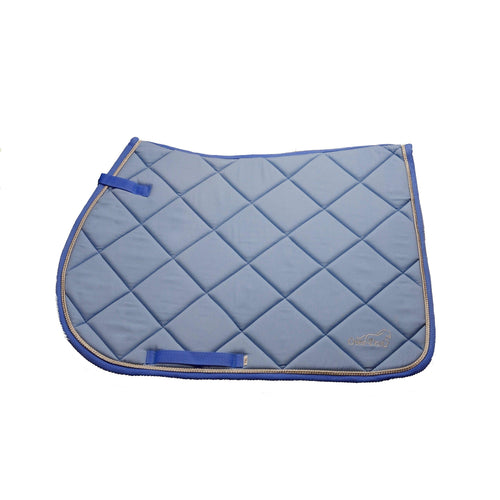 Over-Trot Sky Blue Performance Saddle Pad - All Purpose-Over-Trot-Tacklet