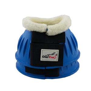 Sky Blue Rubber Bell Boots with Fleece - Factory Seconds