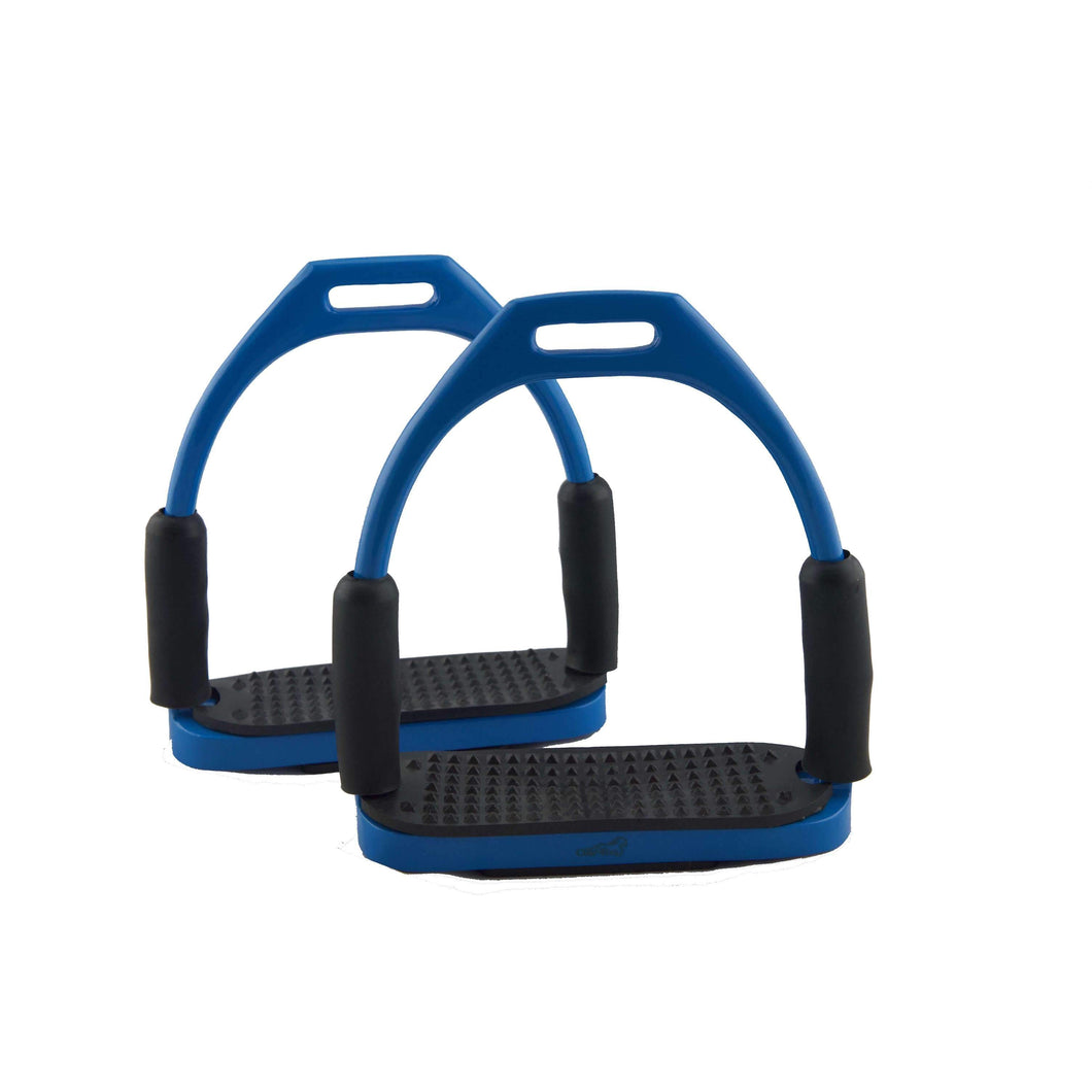 Vespa Blue Flexi Stirrups