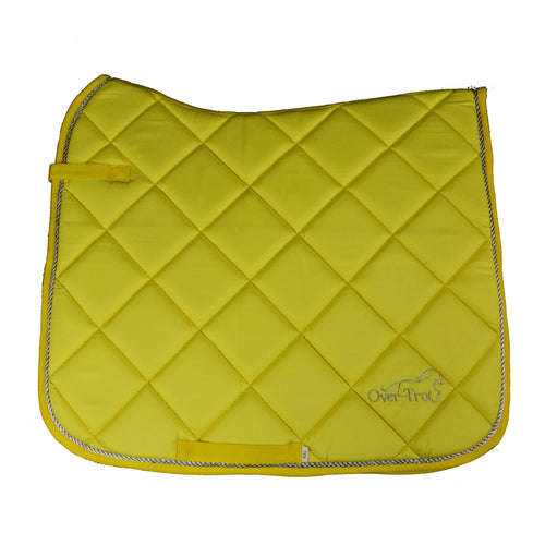 Over-Trot Yellow Performance Saddle Pad - Dressage-Over-Trot-Tacklet