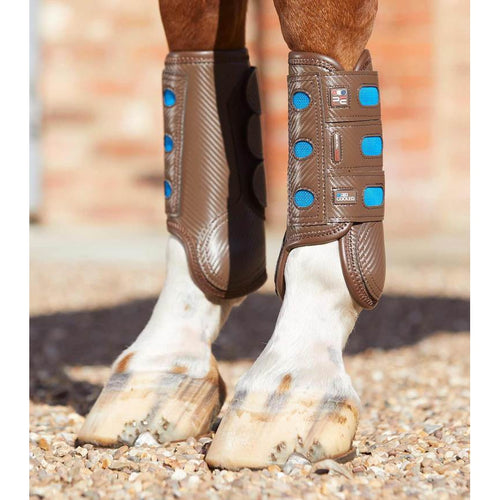 Carbon Tech Air Cooled Eventing Boots - Front