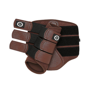 Chocolate - Aero Cool Flow Neoprene Brushing Boots