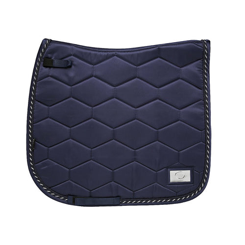 Navy Ink - Tessuto Satin - Bamboo Cotton Dressage Pad