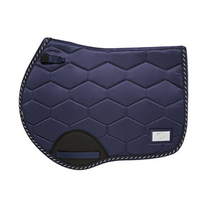 Navy - Alto Satin Bamboo Cotton Jump Pad - Full Size