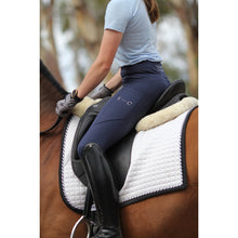 Load image into Gallery viewer, Navy Honeycomb Technical Tights