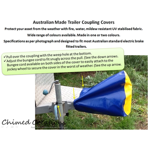 Trailer Coupling Covers-Chimed Creations-Tacklet