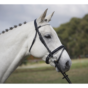 Premium Patent Leather Ultra-Bling Hanoverian Bridle