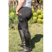 Load image into Gallery viewer, Black Honeycomb Technical Tights