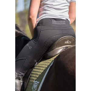 Black Honeycomb Technical Tights