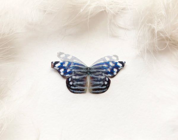 Something Blue 3D Silk Butterfly for Wedding Decor