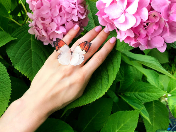 Foxy Butterfly Ring