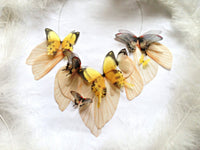 Bohemian Necklace with Butterflies