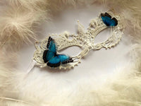 Masquerade Mask with Butterflies