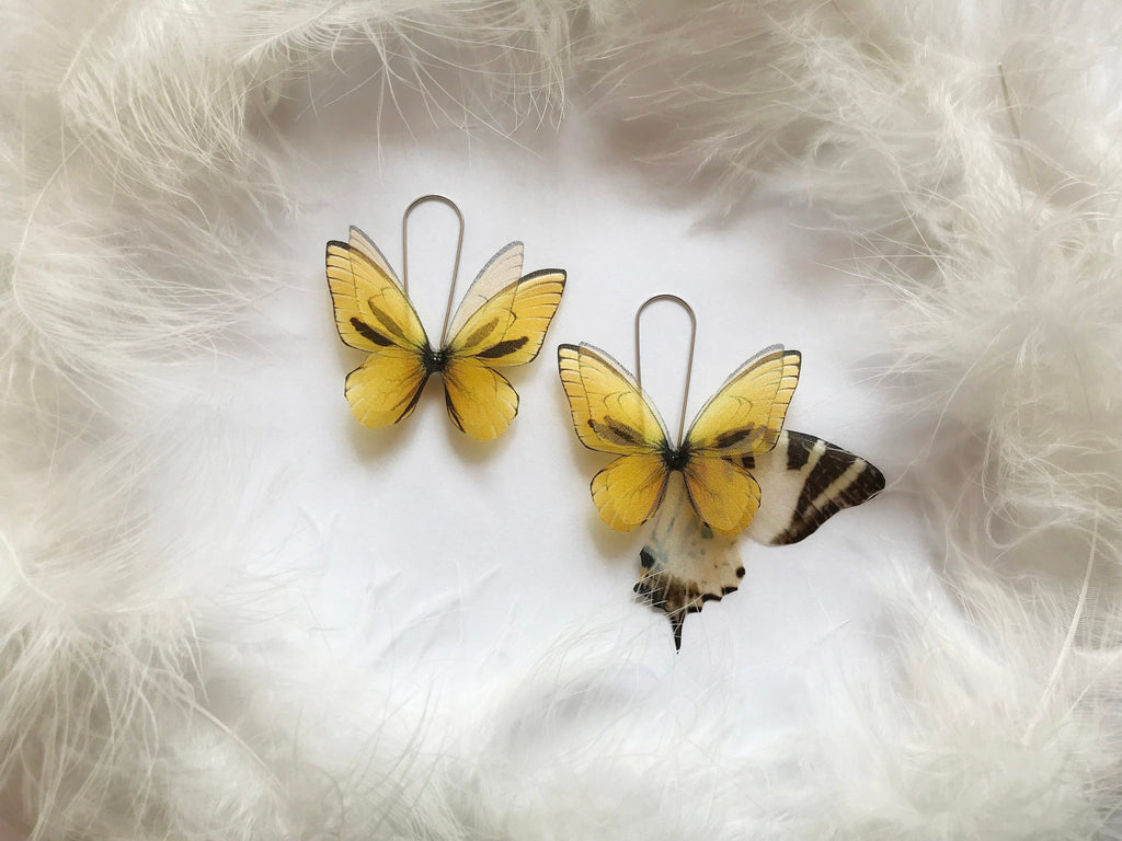 Aspen Gold Butterfly Earrings