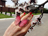 "Ring ""Reverie"" Butterfly"