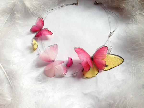 Butterfly Necklace Summer