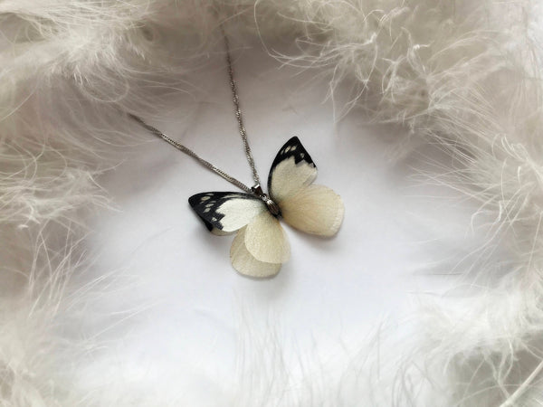Ivory Butterfly Pendant