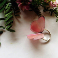 Pinky Butterfly Ring