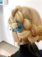 Sapphire Butterfly HairPin