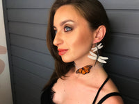 Monarch Butterfly Choker