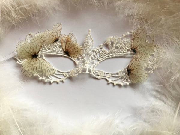 Ivory Mask for Venice Masquerade