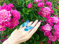 Set of Helena Butterfly Rings