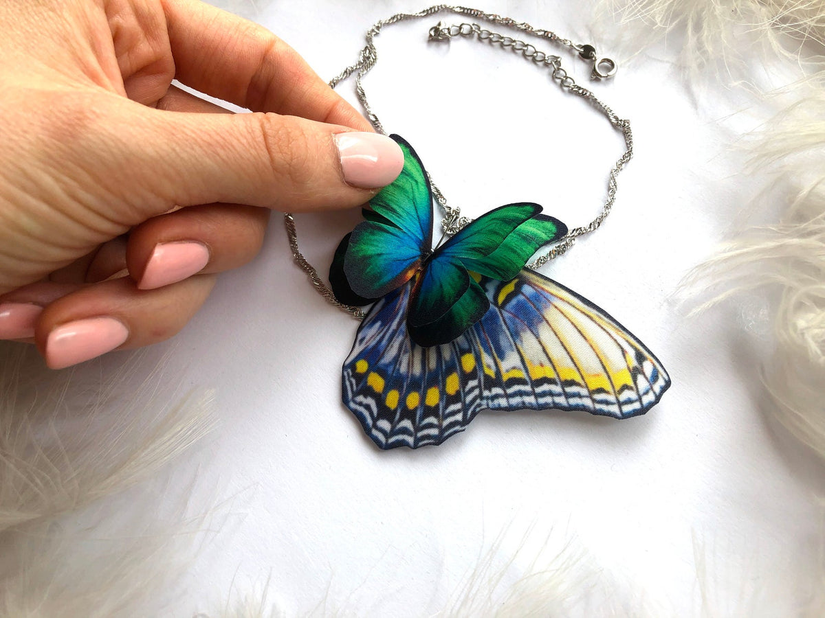 Butterfly Natural Anklet