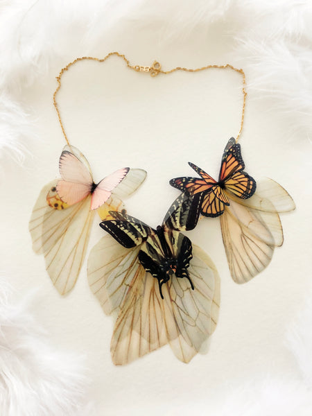 Necklace with Butterflies for everyone who loves Butterflies