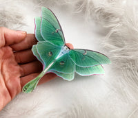 Emerald Luna Moth Brooch great gift for anyone who loves Butterflies and Moths
