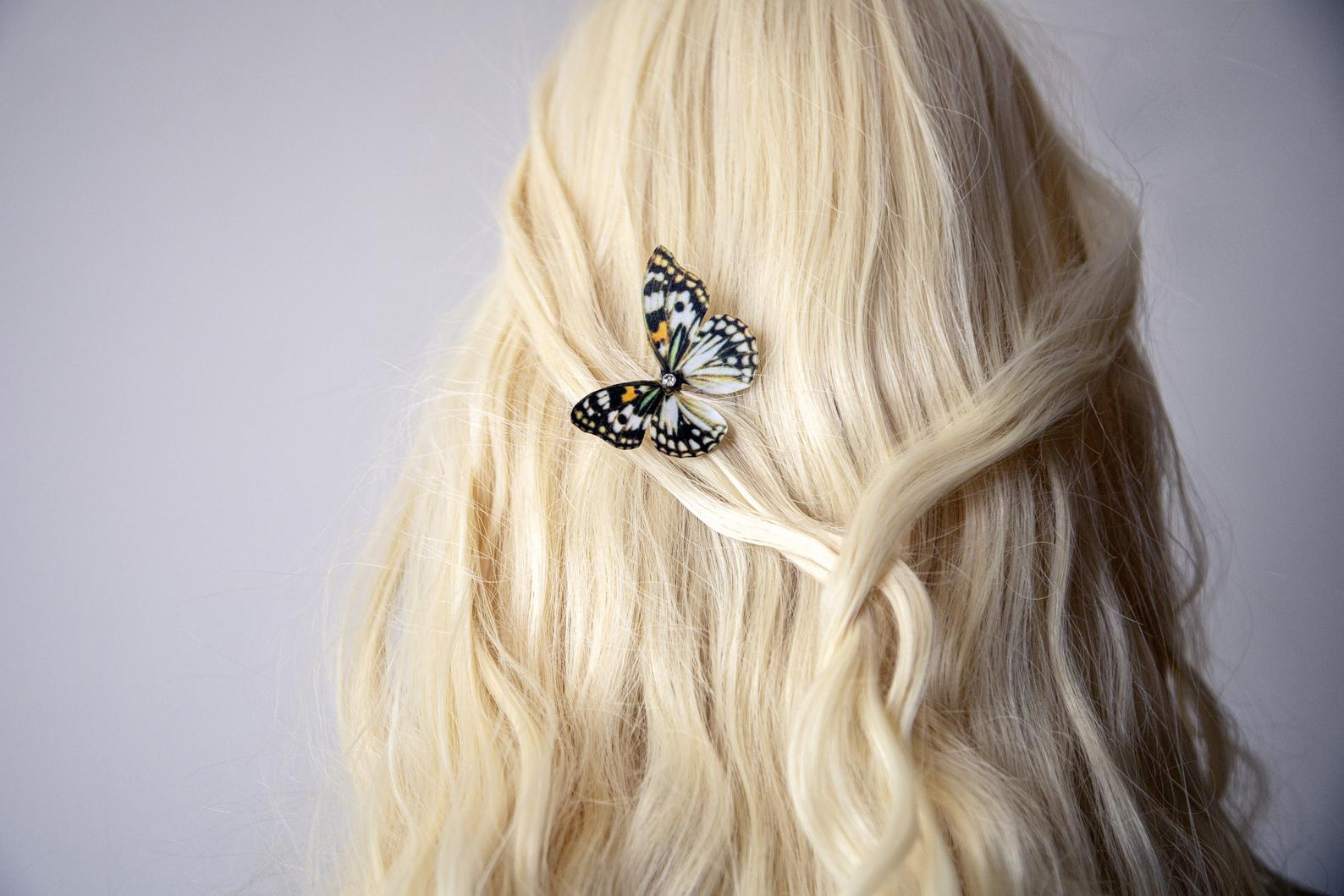 Boho Butterfly Hairpin for unique party hairstyle
