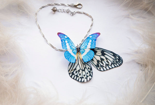 Something Blue Anklet with Magic Butterfly