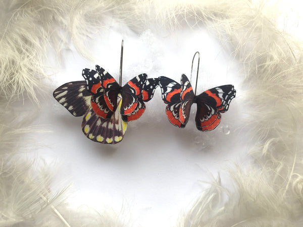 Beautiful Vanessa Butterfly Earrings