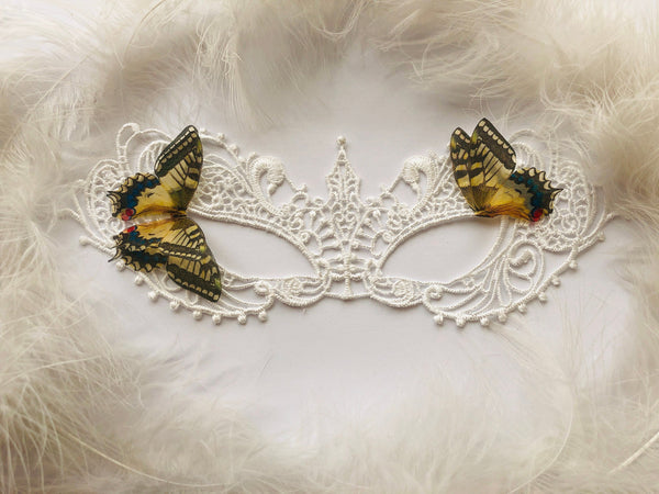 Magic Swallowtail Butterfly Mask for Masquerade