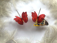 Ruby Red Butterfly Earrings for everyone who loves Butterflies