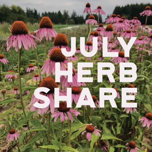Fresh Medicinal Herb Share - July