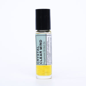 Crystal Clear Mind Peppermint Oil Roll-On