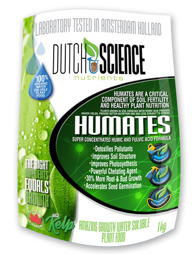 100% Organic Water Soluble Humates Nutrients