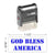 God Bless America (1) Stamp
