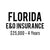 Florida E&O Insurance ($25,000, 4 years)