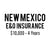 New Mexico E&O Insurance ($10,000, 4 years)