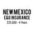 New Mexico E&O Insurance ($25,000, 4 years)