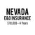 Nevada E&O Insurance ($10,000, 4 years)