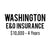 Washington E&O Insurance ($10,000, 4 years)